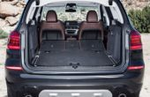 2019 BMW X3 Trunk Capcity Volume