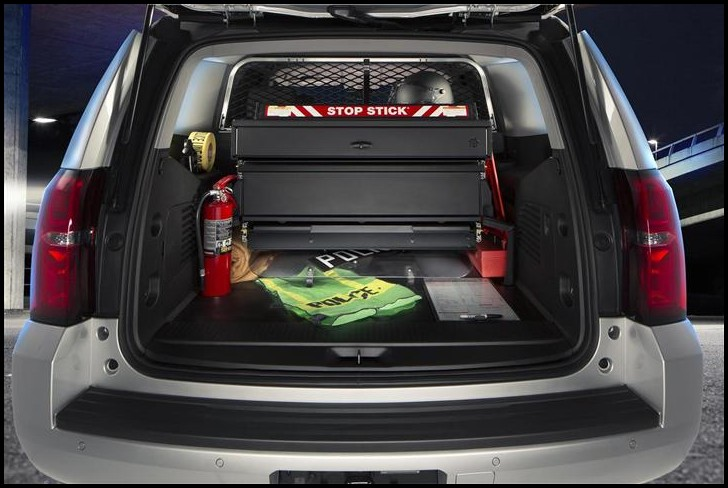 2019 Chevy Tahoe Trunk Space SUV