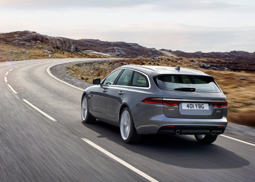 2019 Jaguar XF Sportbrake Dimensions Changes