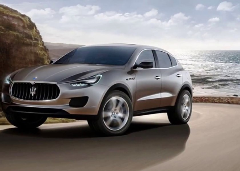 2020 Maserati SUV Rendered Exterior