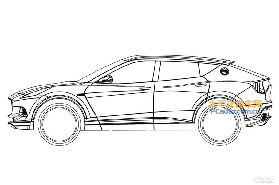 New Lotus SUV Sketches Concept Design
