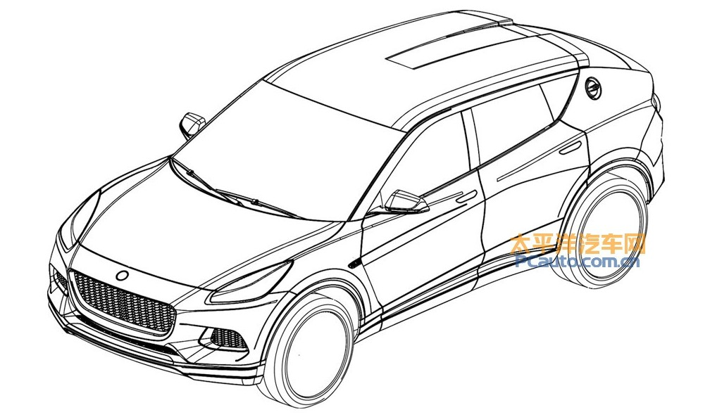 New Lotus SUV Sketches Exterior Reveals