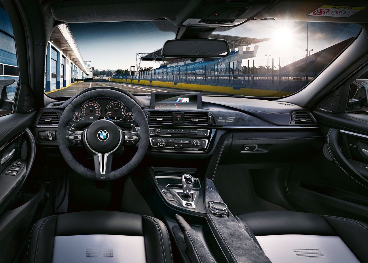 2018 BMW M3 CS Dashboard Feature Interior