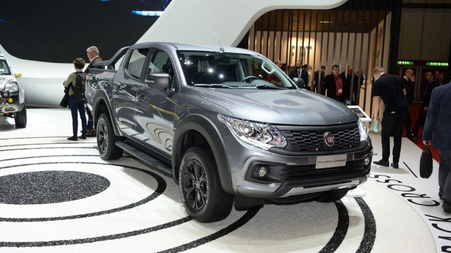 2018 Fiat Fullback Cross Pickup Truck Assessories