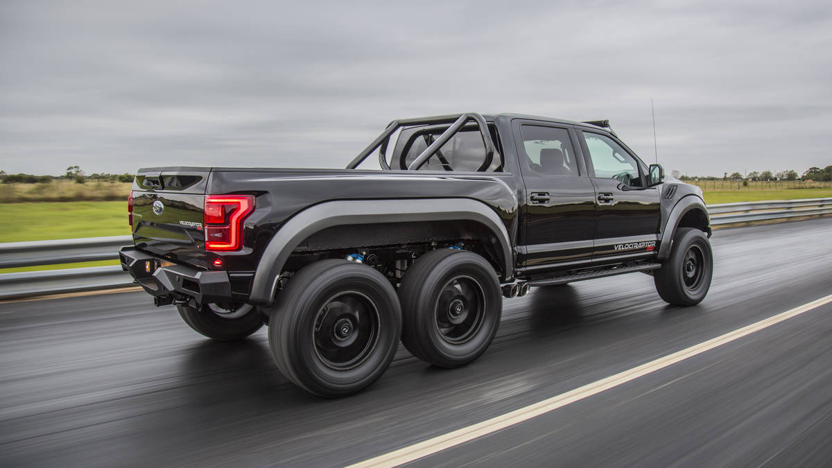 2018 Hennessey VelociRaptor 6x6 Performance Review