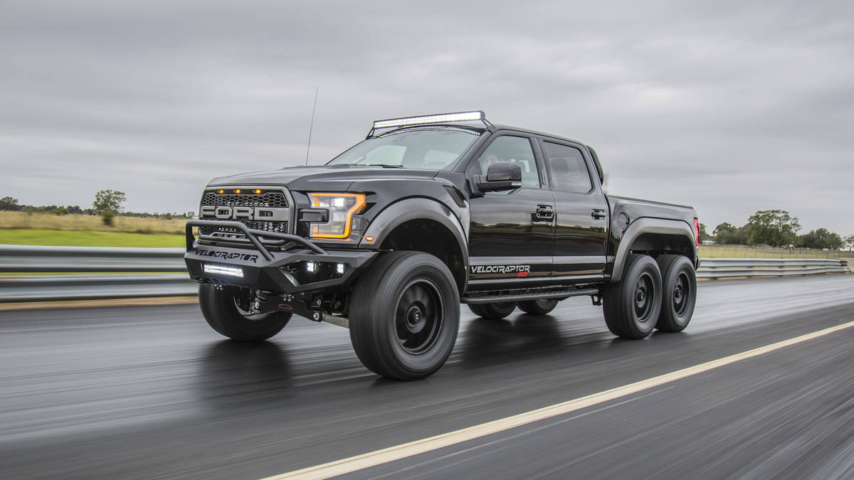 2018 Hennessey VelociRaptor 6x6 Specs and Data Sheet
