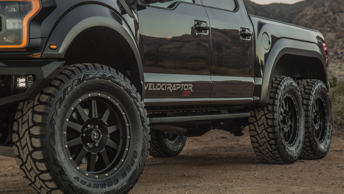 2018 Hennessey VelociRaptor 6x6 Wheel Tyre Size and AWD Performance - New SUV Price