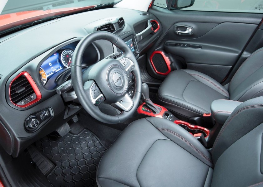 2018 Jeep Renegade 1.4 Multiair Interior Dimensions