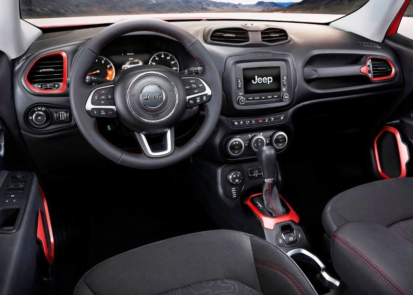 2018 Jeep Renegade 1.4 Multiair Interior