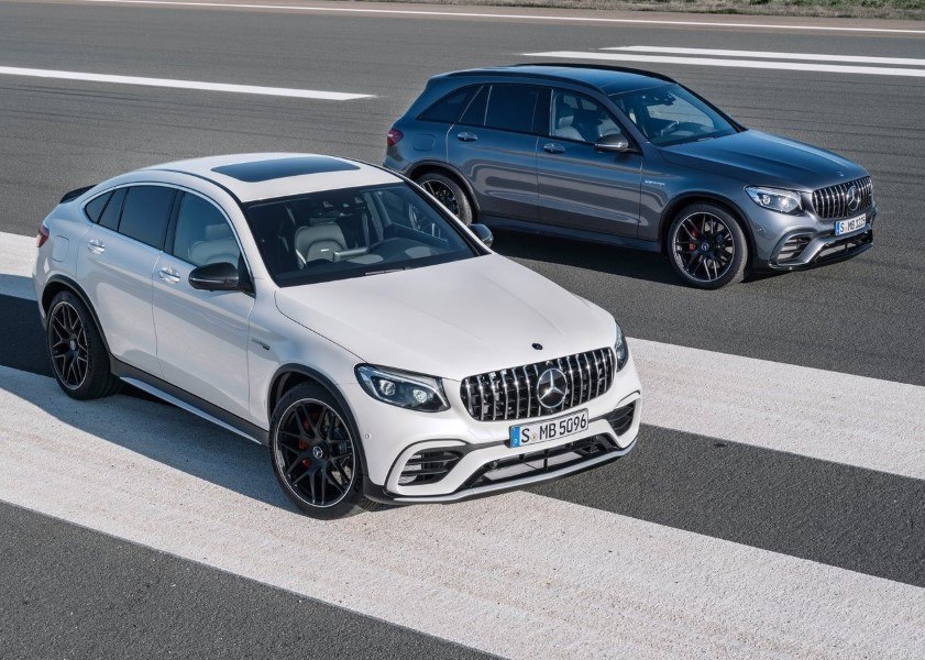 2019 Mercedes GLC AMG 63 S 4Matic Color Model Trims