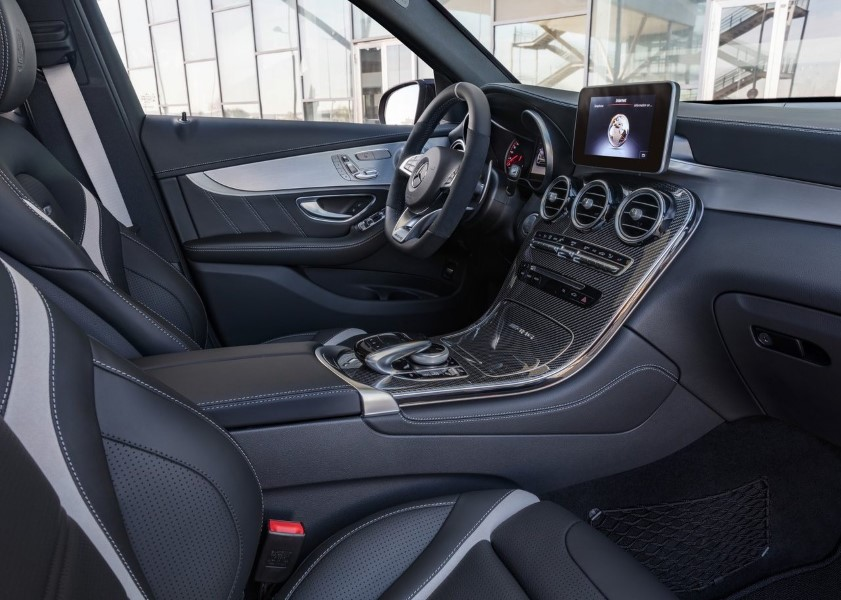 2019 Mercedes GLC AMG 63 S 4Matic Interior Changes
