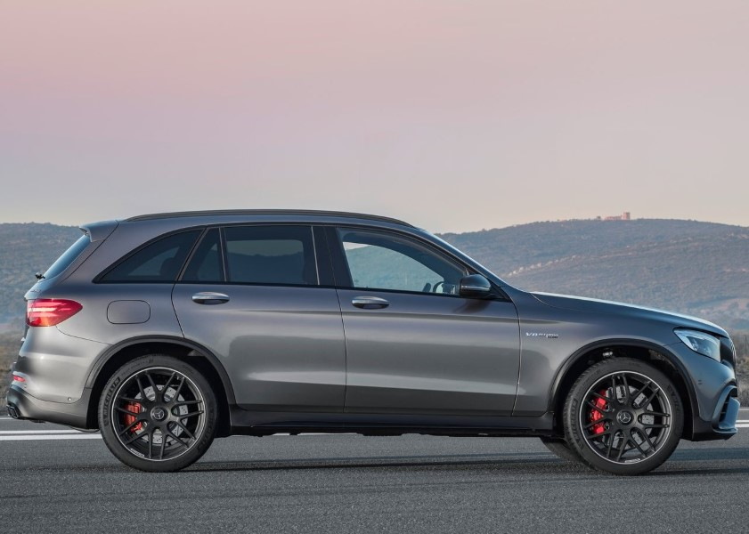 2019 Mercedes GLC AMG 63 S 4Matic SUV Dimensions