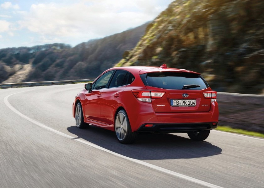 2019 Subaru Impreza Gas Mileage and Performance