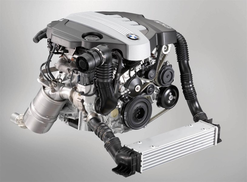 New Bmw Twinpower Turbo 4-cylinder Diesel Engine