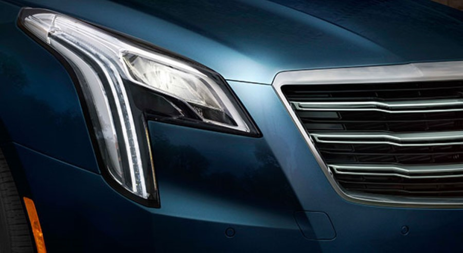 2019 Cadillac XTS Platinum Grill and Fog Light
