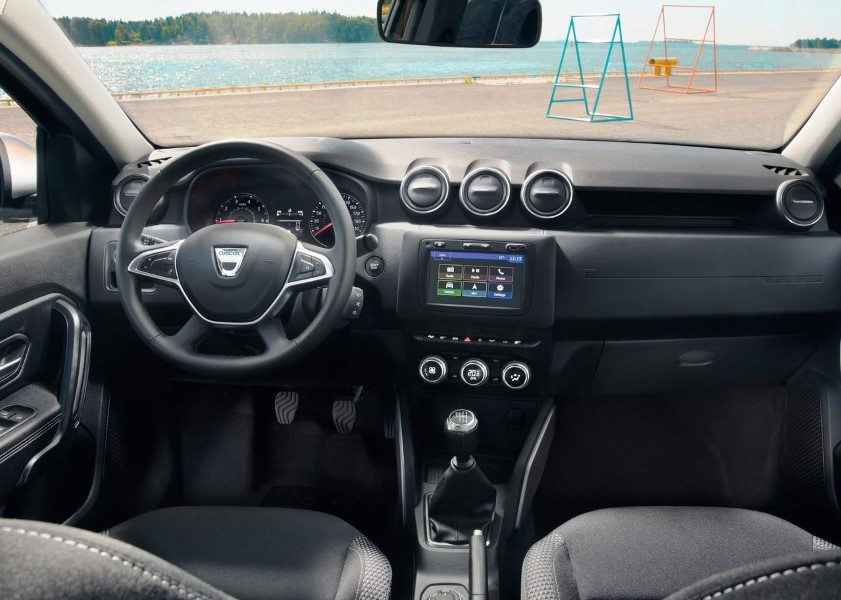 2019 Dacia Duster Interior Dashboard