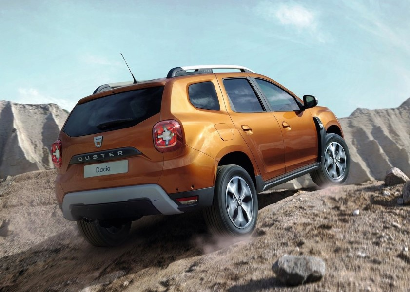 2019 Dacia Duster Off Road Performance WIth All Wheel Drive
