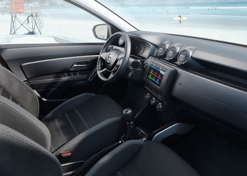 2019 Dacia Duster Seating Interior DImensions