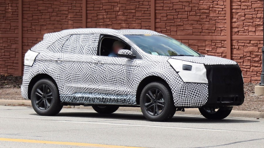 2019 Ford Edge Redesign Photo Spy