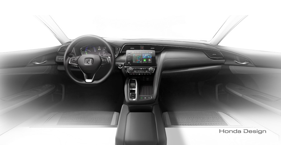 2019 Honda Insight Hybrid Interior Concept
