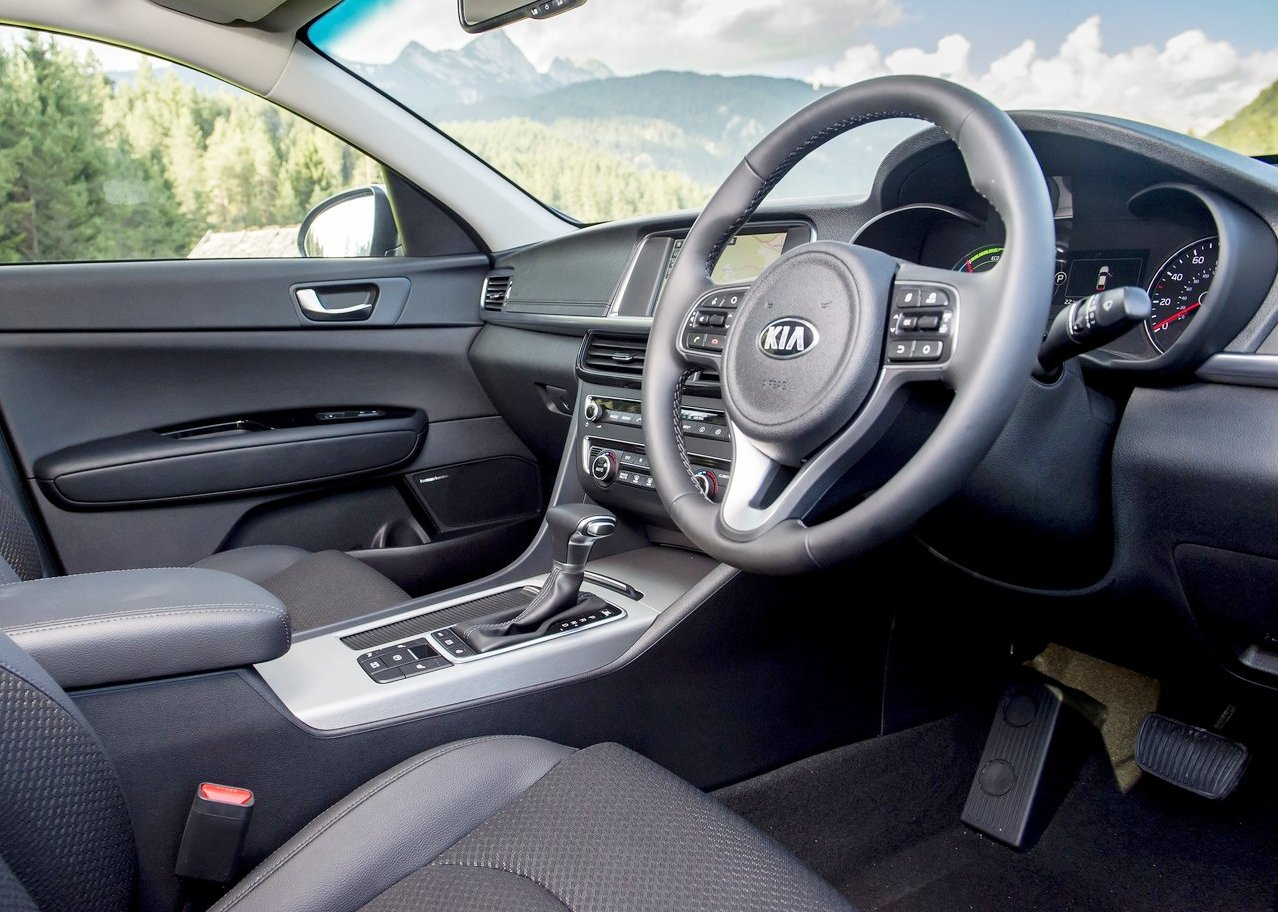 2019 Kia Optima Sportswagon PHEV Interior Dimensions
