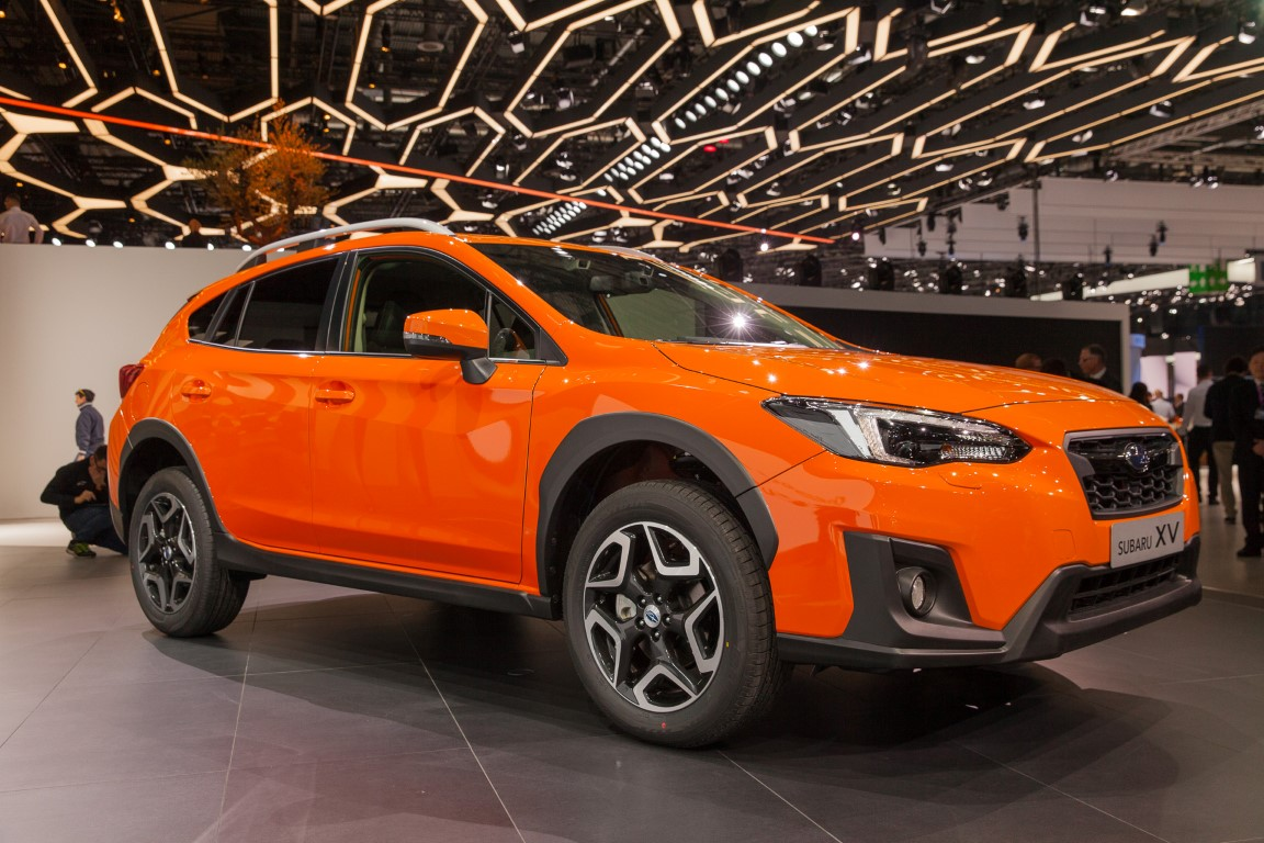 2019 Subaru XV Crosstrek Orange Color