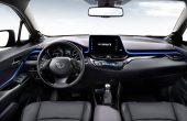 2019 Toyota C-HR Hybrid Interior Changes