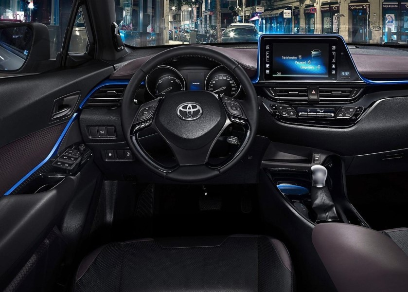 2019 Toyota C-HR Interior Changes