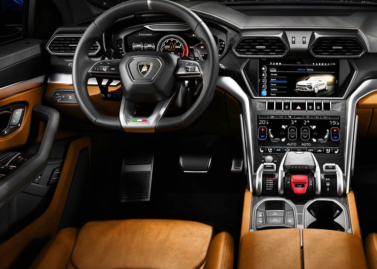 best lamborghini urus interior features new suv price
