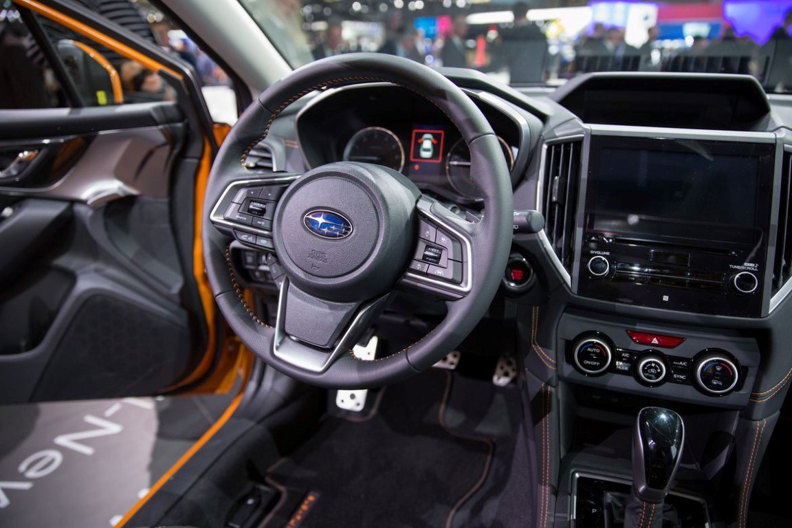 Interior Of 2019 Subaru XV Crosstrek