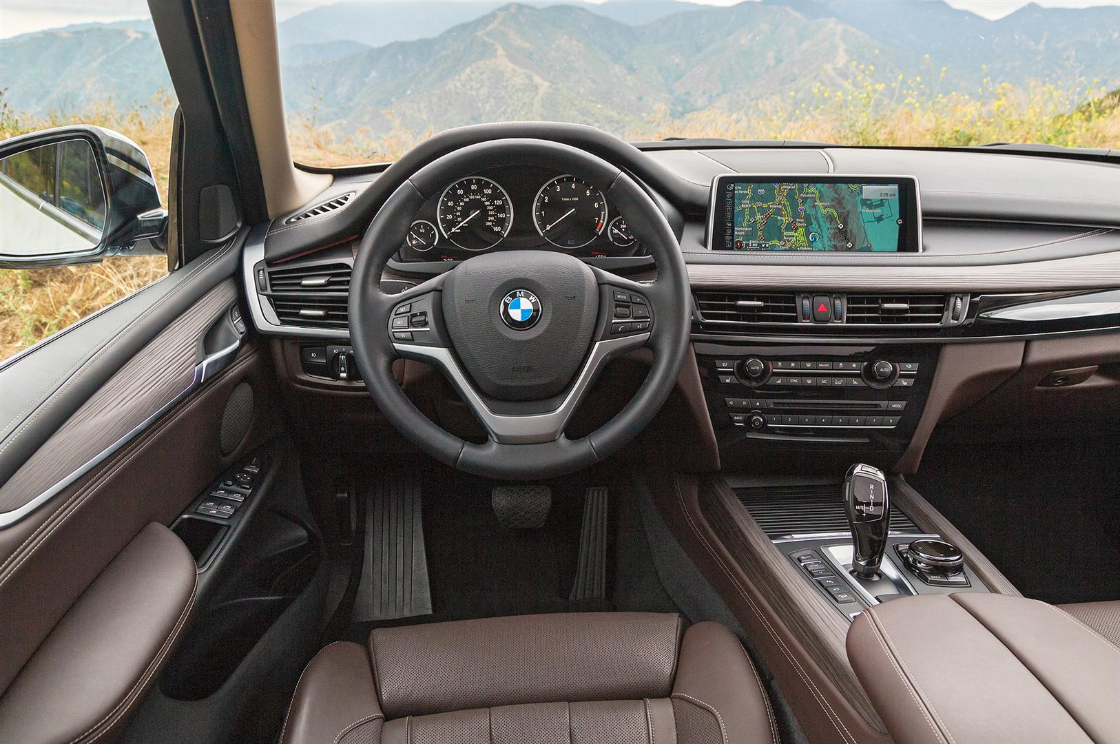 2019 BMW X5 Interior Rendering