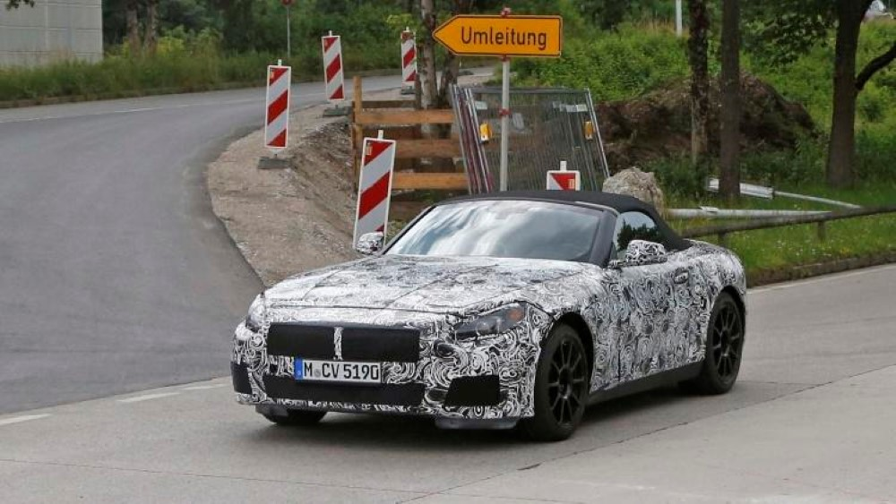 2019 BMW Z5 Spy Pictures