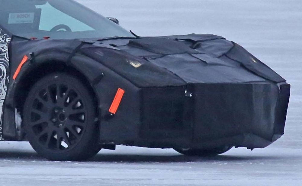 2019 Chevrolet Corvette C8 Spy Photos