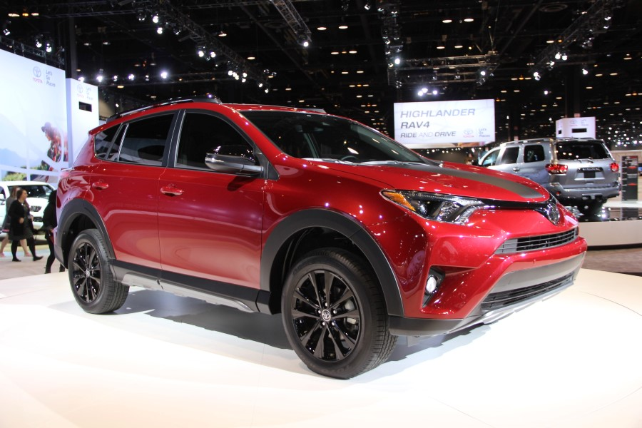 2019 Toyota RAV4 Colors Trims