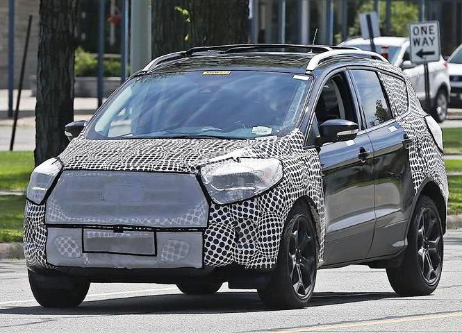 New Ford Kuga Usa Price and Spied Shots