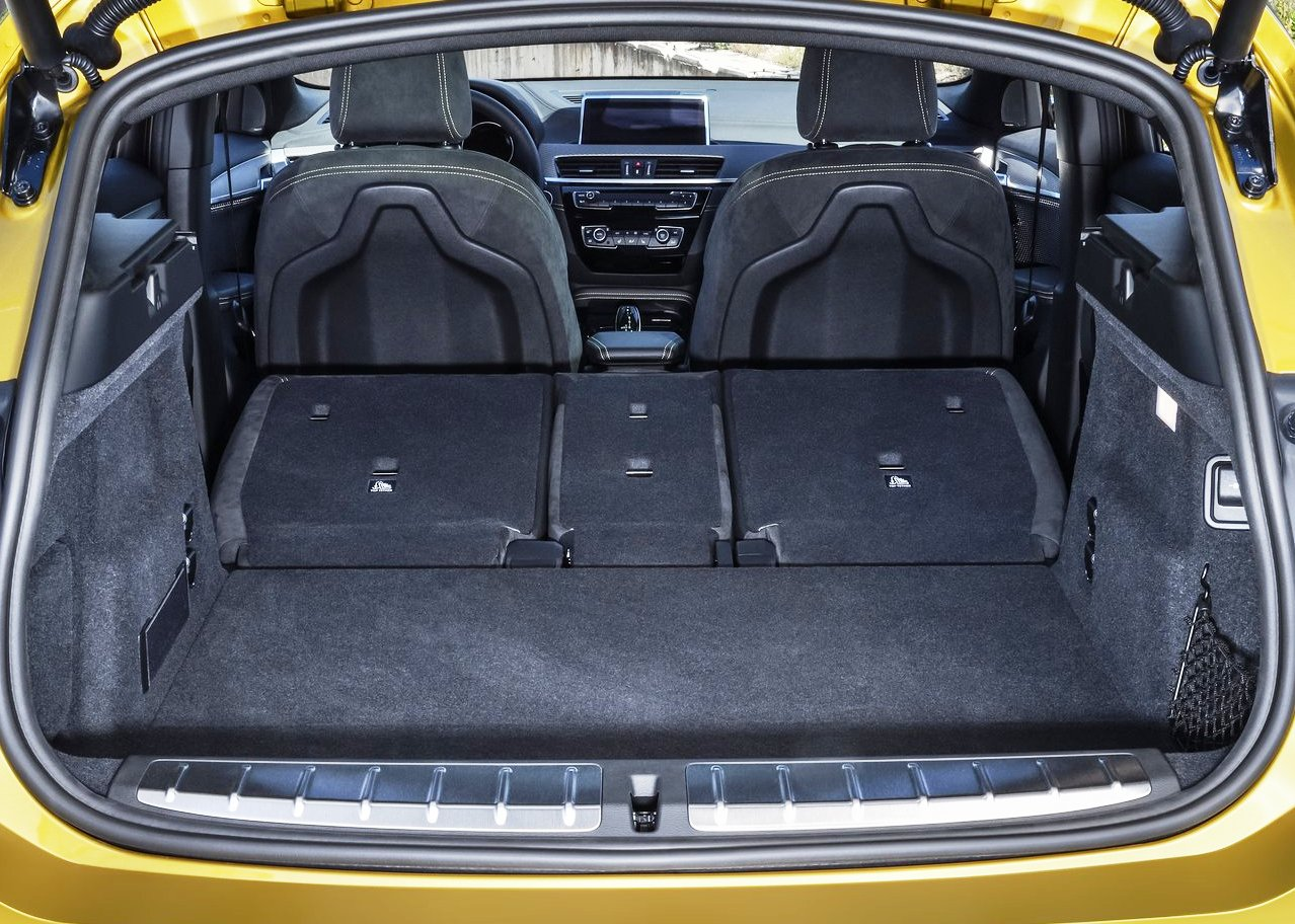 2019 BMW X2 SUV Trunk Capacity