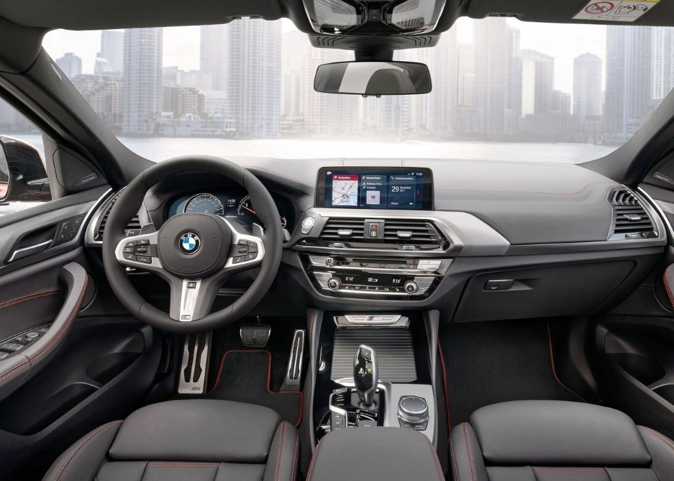 2019 BMW X4 Interior features