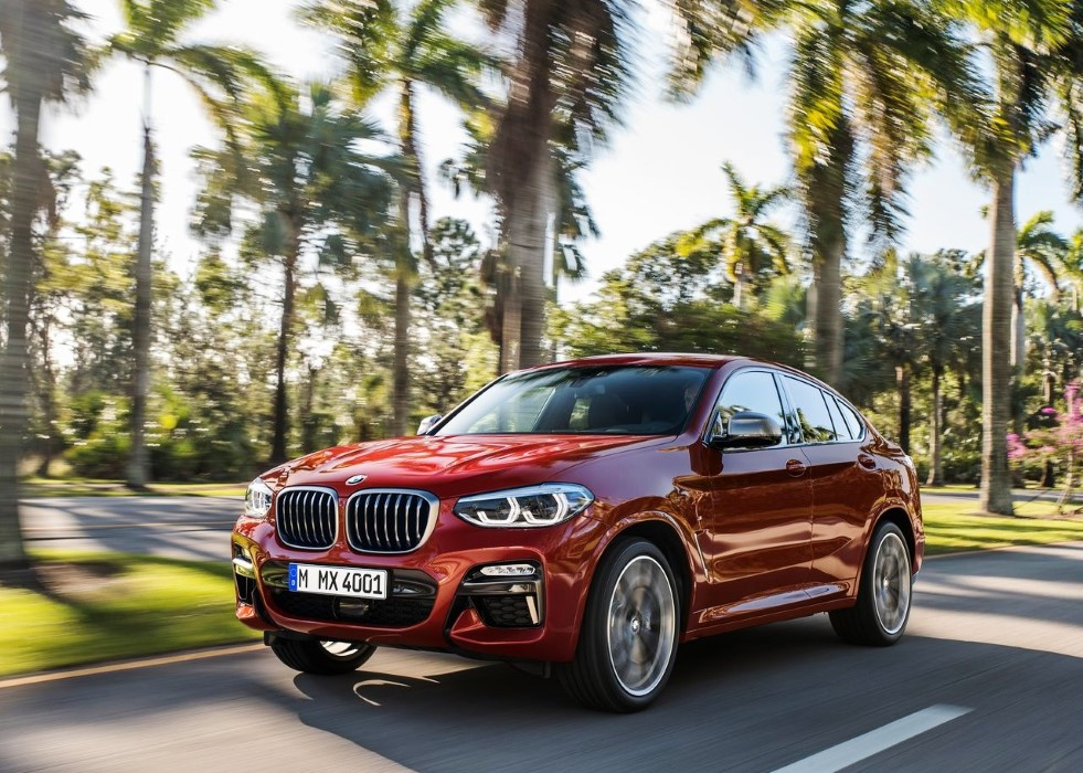 2019 BMW X4 M Sport Gas Mileage