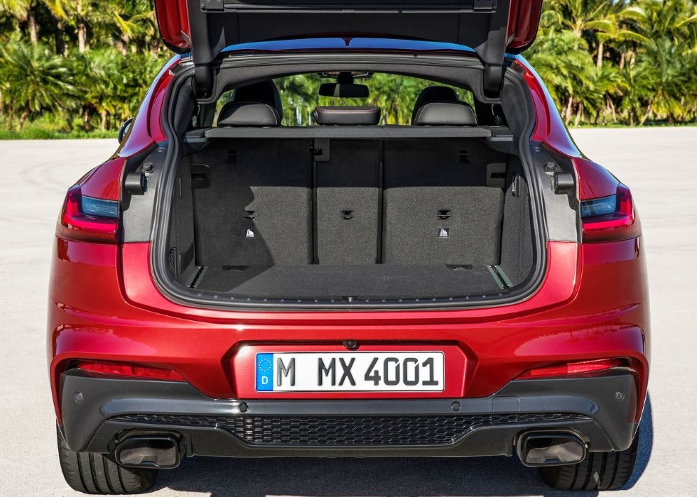 2019 BMW X4 Trunk Capacity
