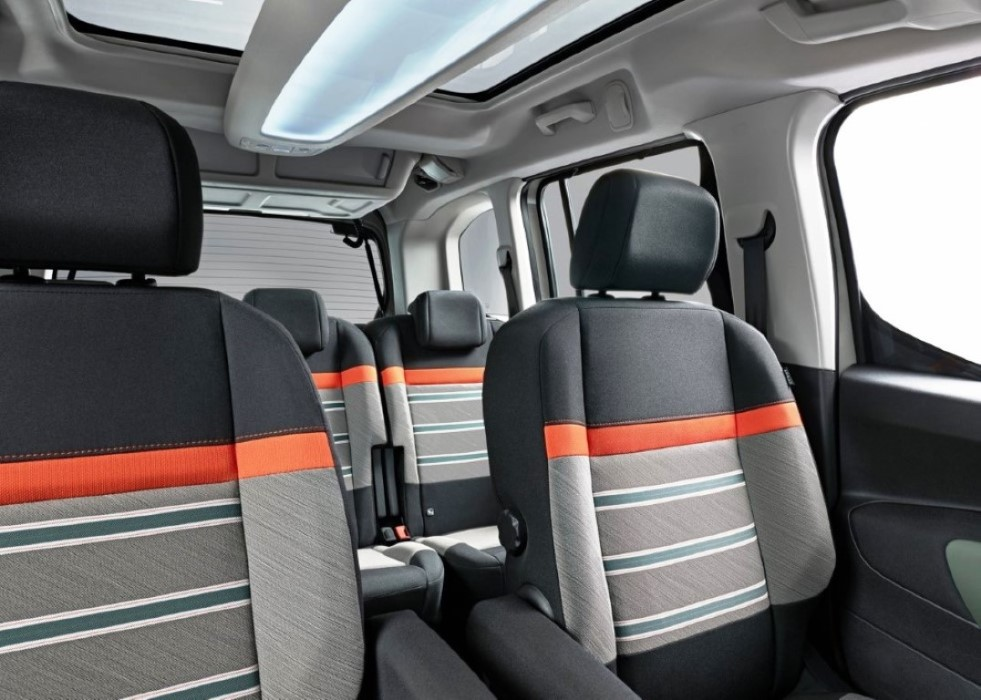 2019 Citroen Berlingo 7 Seater Interior
