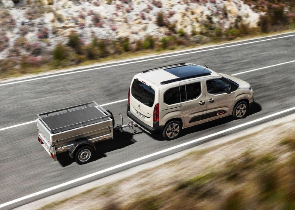 2019 Citroen Berlingo Towing Capacity