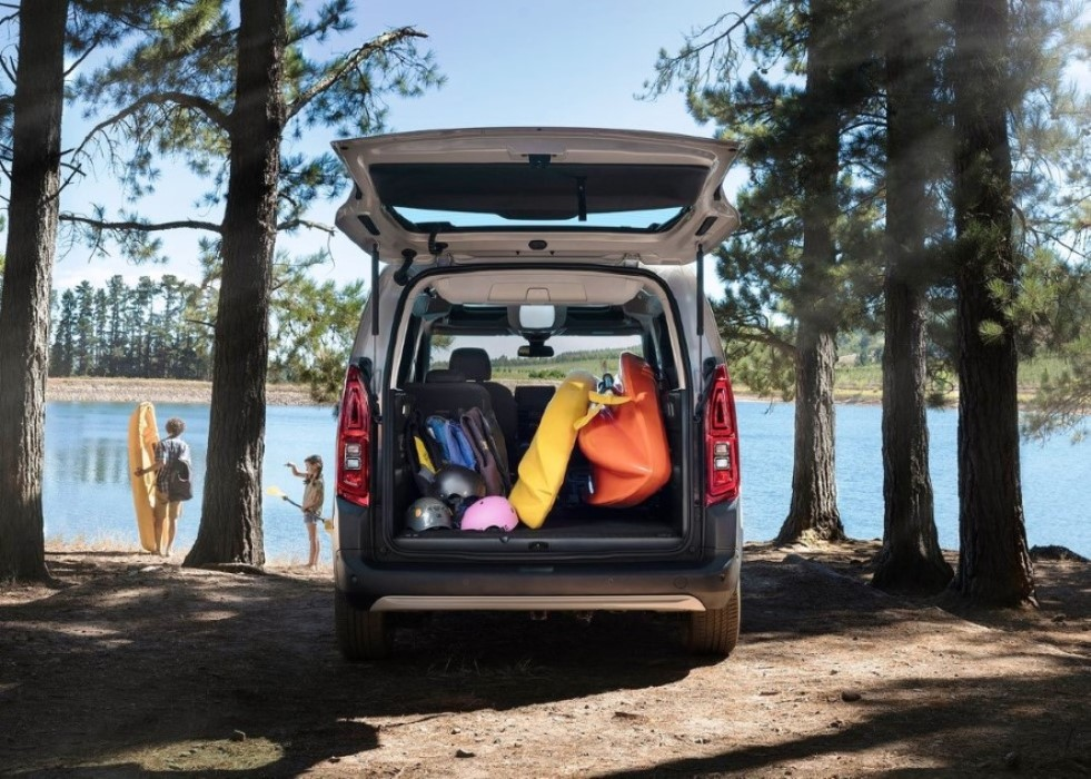 2019 Citroen Berlingo Trunk Capacity