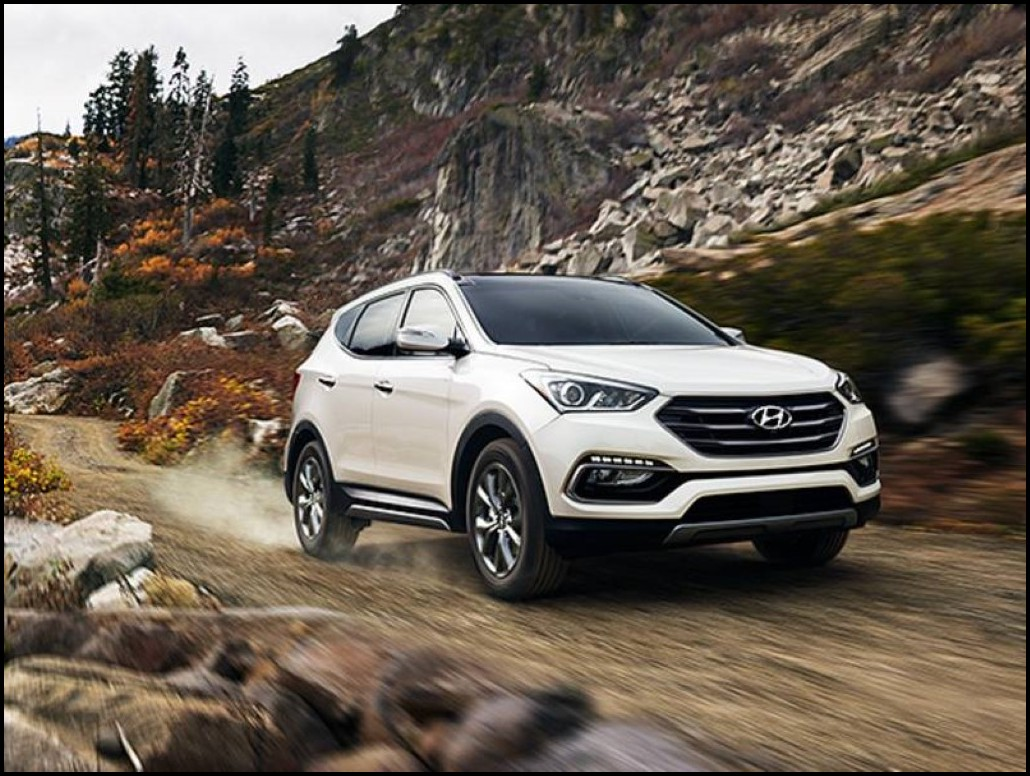 2019 Hyundai Santa Fe Specifications SUV With AWD