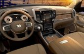 2019 RAM 1500 Interior Leather Color