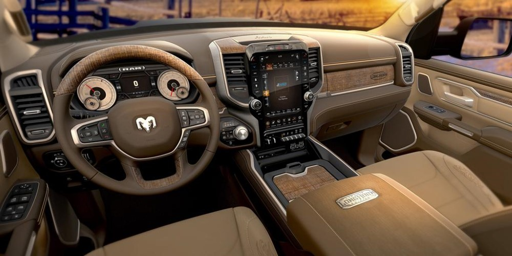 2019 RAM 1500 Interior Leather Color - New SUV Price