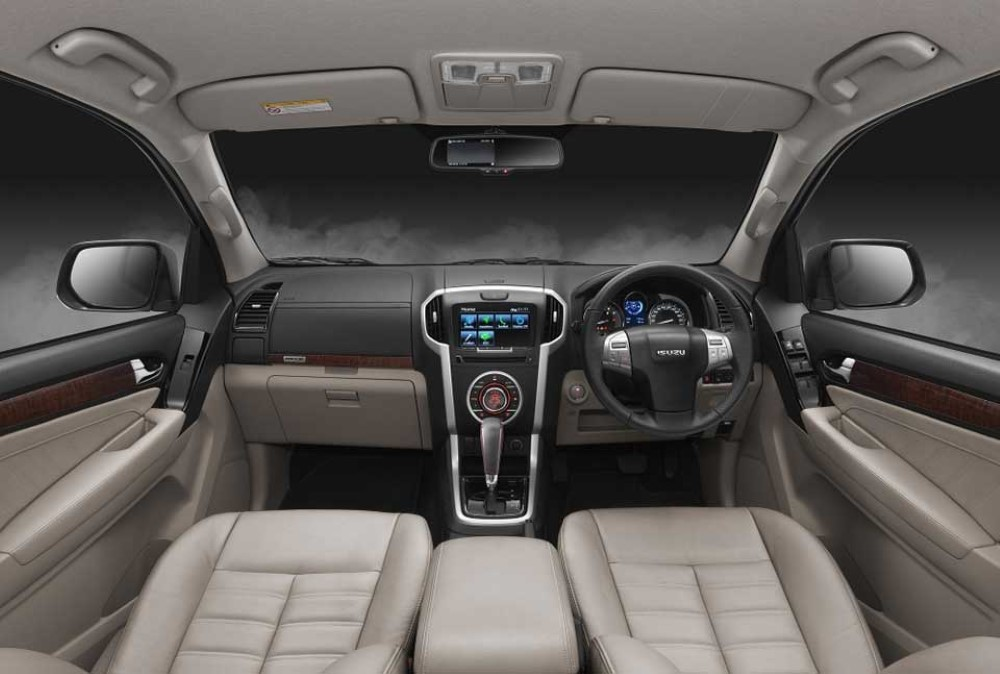 2019 Isuzu MU-X Interior Changes