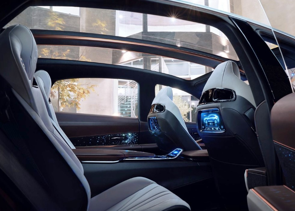 2019 Lexus LF-1 Limitless Interior Features