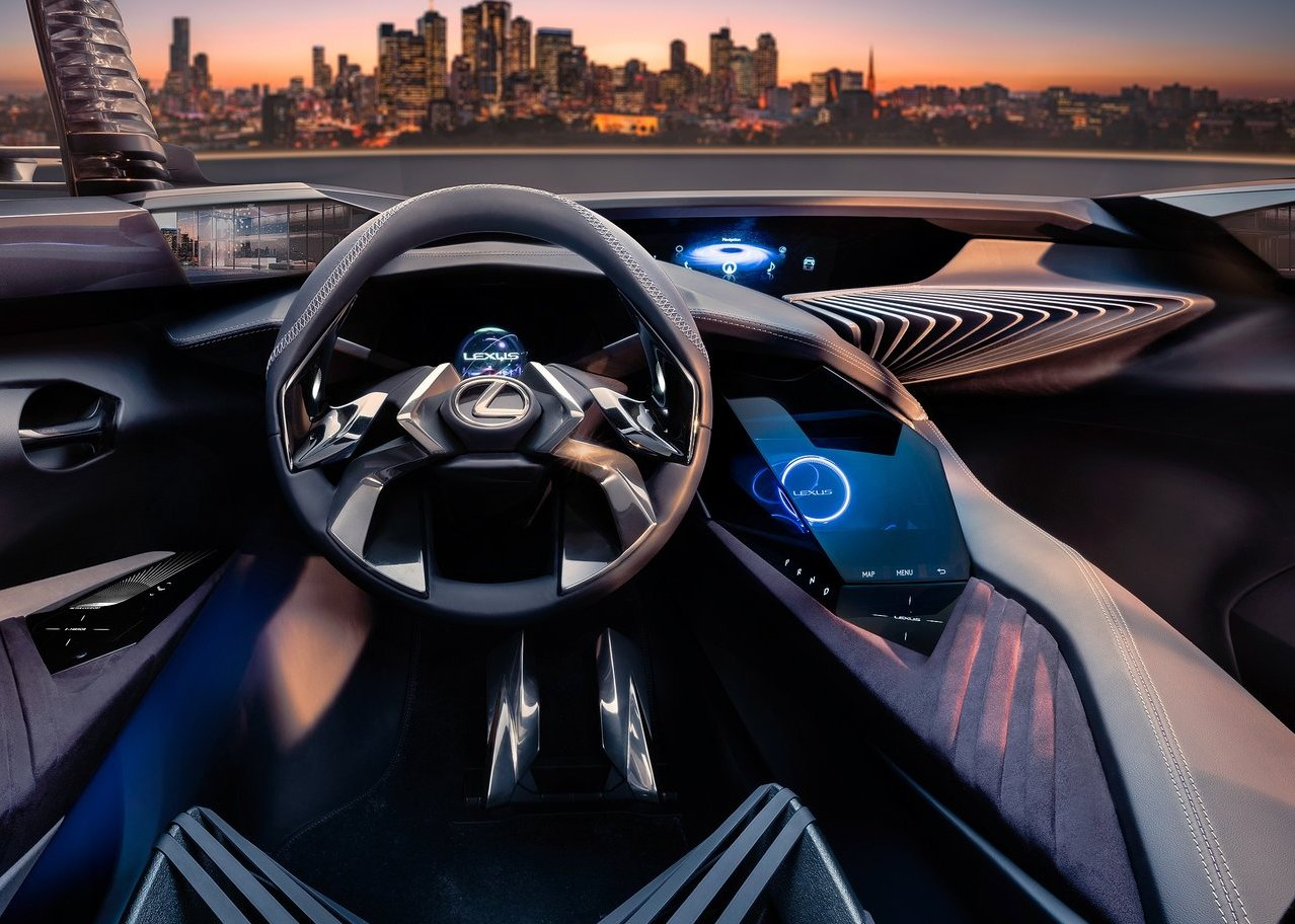 2019 Lexus UX Production Interior
