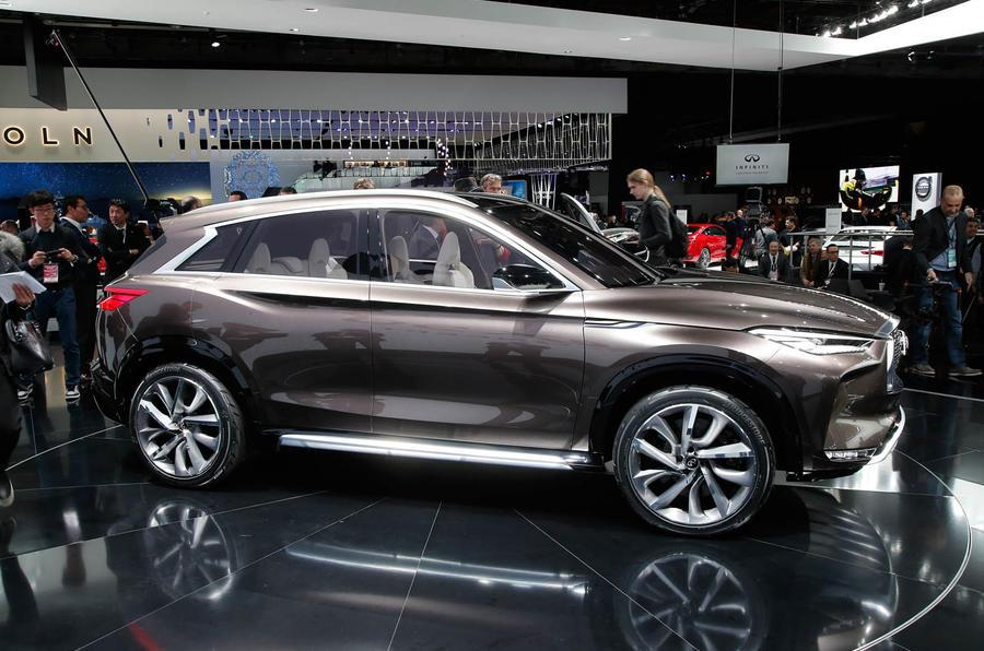 2020 Infiniti QX50 World Premier