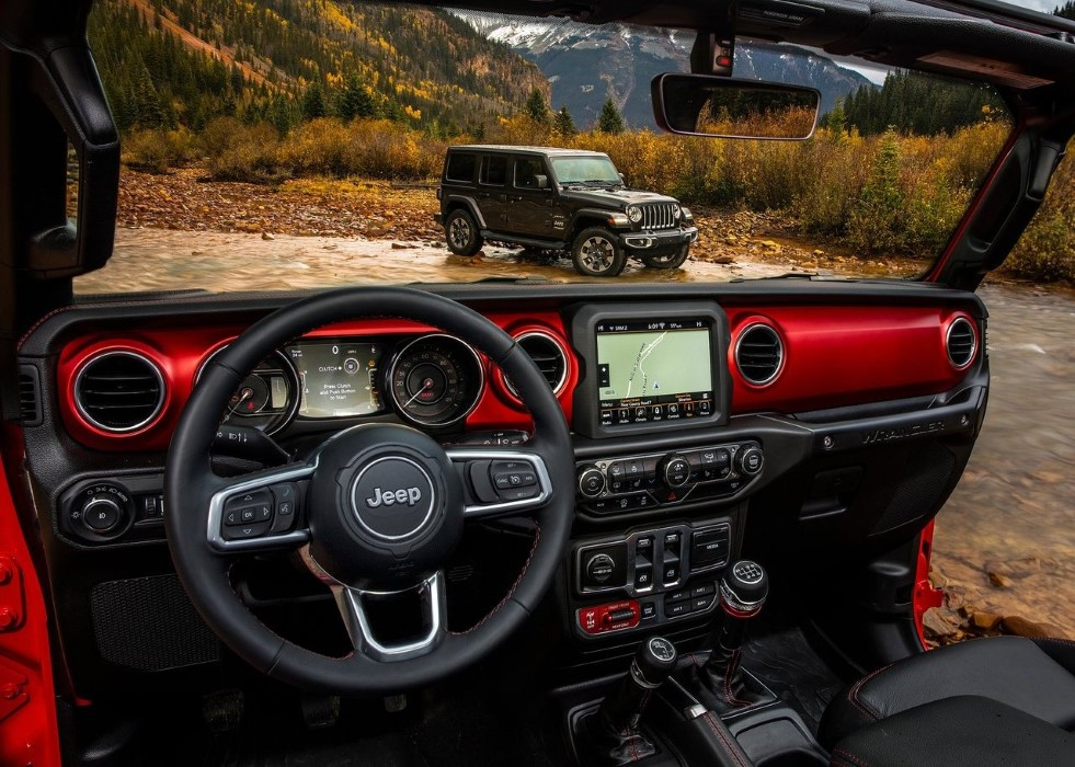 2020 Jeep Wrangler Rubicon Interior